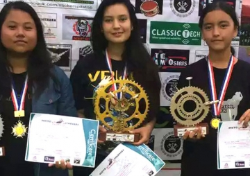 मोटो जिमखानामा दिपेश र वर्षा विजेता