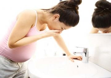गर्भावस्थामा उल्टी आउने समस्या