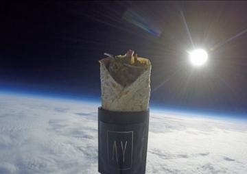 अन्तरिक्षमा कबाब