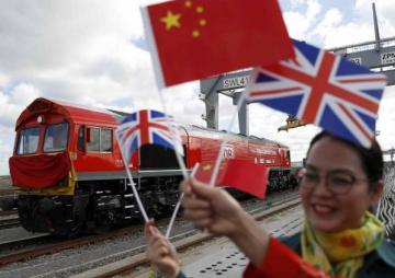 चीन–ब्रिटेन जोड्ने रेल सञ्चालनमा