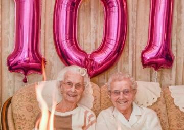 १०१ वर्षे जम्ल्याहाको जन्मदिन