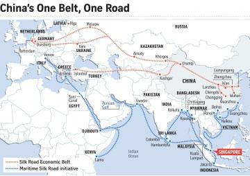 चीनको महत्वाकांक्षा, वन बेल्ट वन रोड