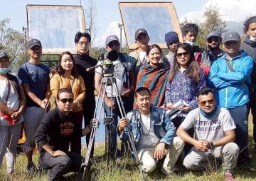 'म्ले क्यु' फिल्म फलोरमा