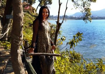 उपन्यासकार सरस्वती प्रतीक्षाको  काठमाडौं हेराई : 'काठमाडौं कागजको बाघ जस्तो'