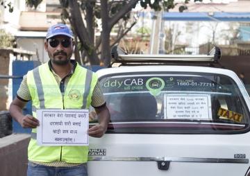 ट्याक्सी चालकको प्रश्न : 'सरकार खाडी लखेट्न लाग्या हो ?'