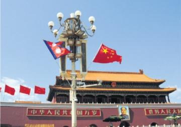 आक्रामक  लगानीकाे मुडमा चीन