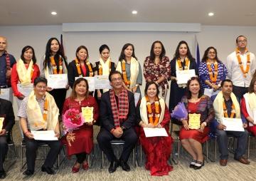 नेपाल–फिलिपिन्स उद्योग वाणिज्य संघको अध्यक्षमा ज्ञवाली
