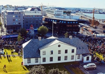 आइसल्यान्डको टिमलाई भव्य स्वागत