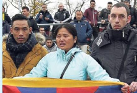 तिब्बती प्रदर्शनका कारण चीन भ्रमण रद्द